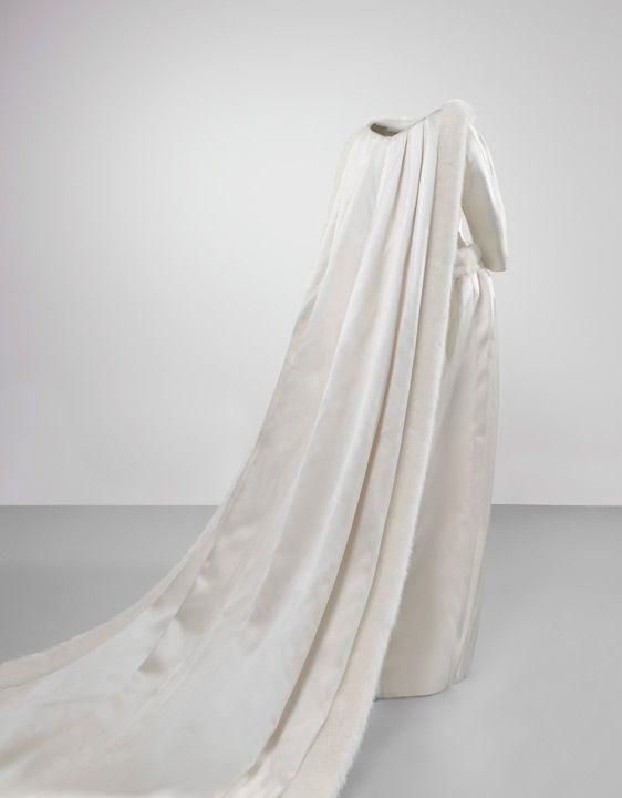 balenciaga - novias - l vestido de novia de fabiola de mora y aragón