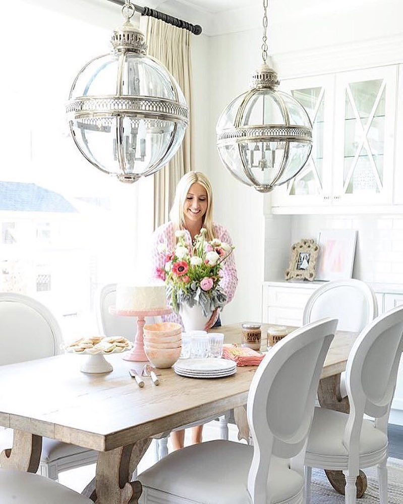 Superb This Pretty In Pink Dining Room Scene Is Picture Perfect! 😍Thanks For  Sharing Your #jossfind, @monikahibbs! {link In Profile To Shop} #regram ...