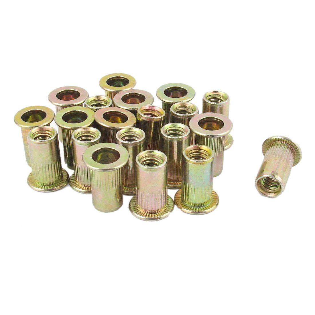 10-24 Aluminum Rivet Nut Rivnut Insert Nutsert SAE 100 pcs