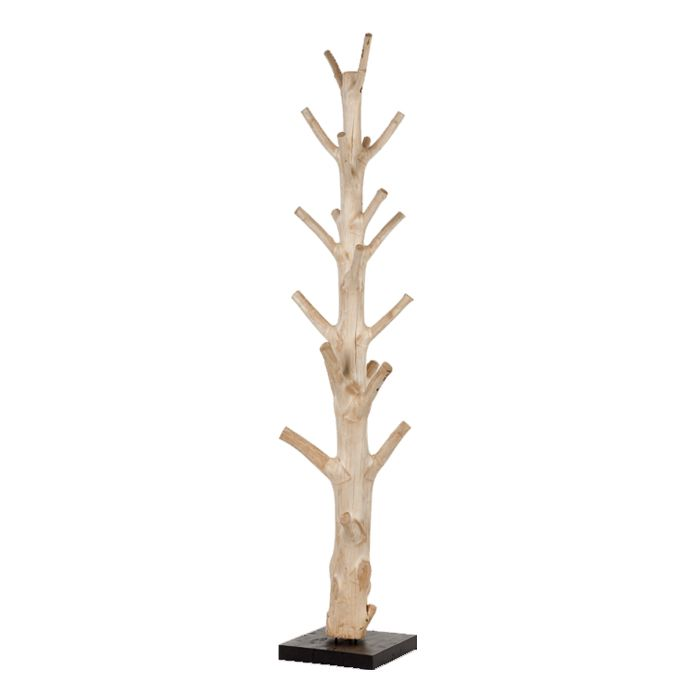 porte manteau cr partir tronc d 39 arbre mont sur socle version large entr e