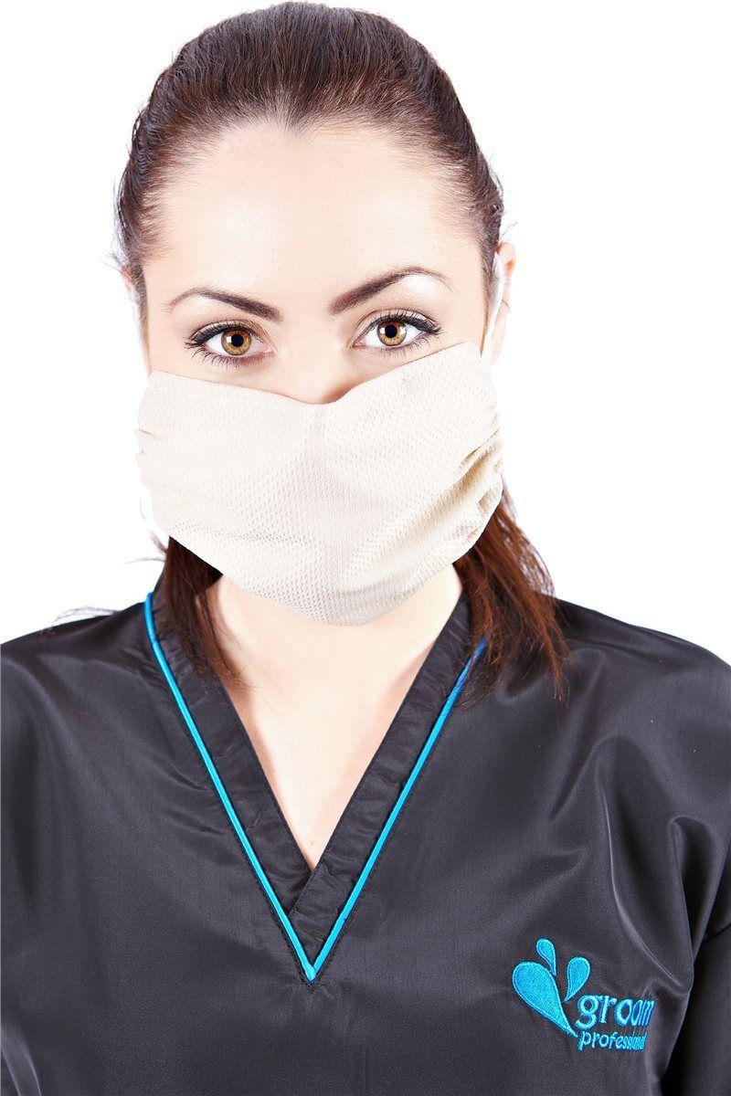 Washable Antimicrobial Masks Beige
