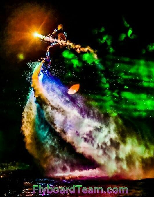 Flyboardteam Nightshow