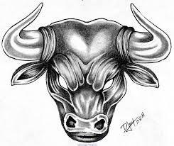 Taureau Aile Tatouage Sun Sign Bull Tattoos Taurus Tattoos