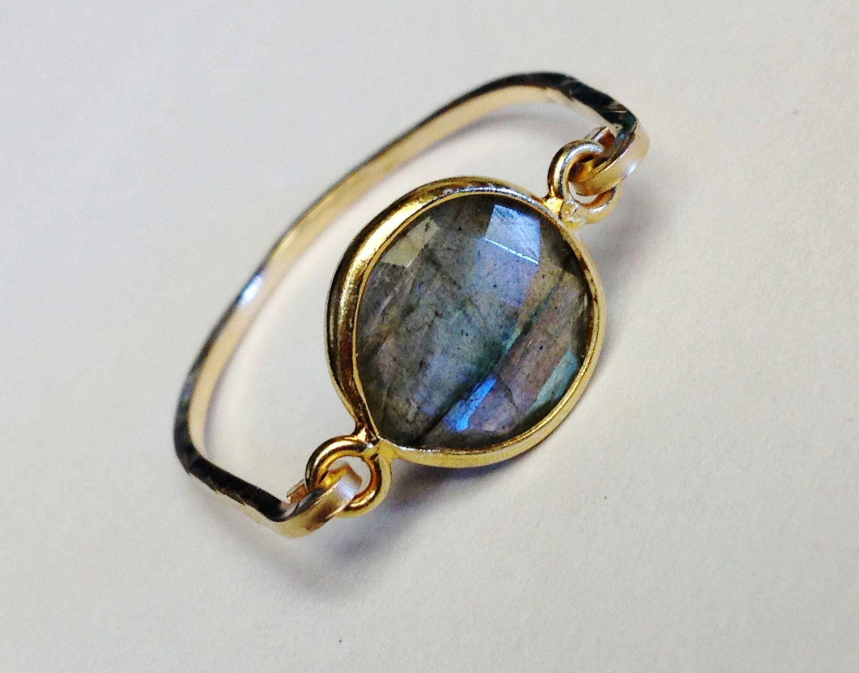 Labradorite Ring   Labradorite Bezel Ring   Labradorite Jewelry  Labradorite Gemstone  Gold Ring by SpiralsandSpice on Etsy https://www.etsy.com/listing/206161012/labradorite-ring-labradorite-bezel-ring