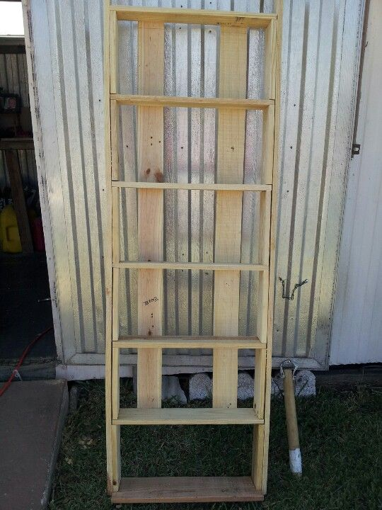 DVD VHS rack made from pallets  So easy to do and done in 1DVD VHS rack made from pallets  So easy to do and done in 1 day  . Easy Diy Dvd Shelf. Home Design Ideas