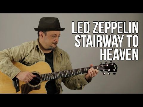 How To Play Stairway To Heaven Part 1 - Guitar Lesson - Led Zeppelin ...
