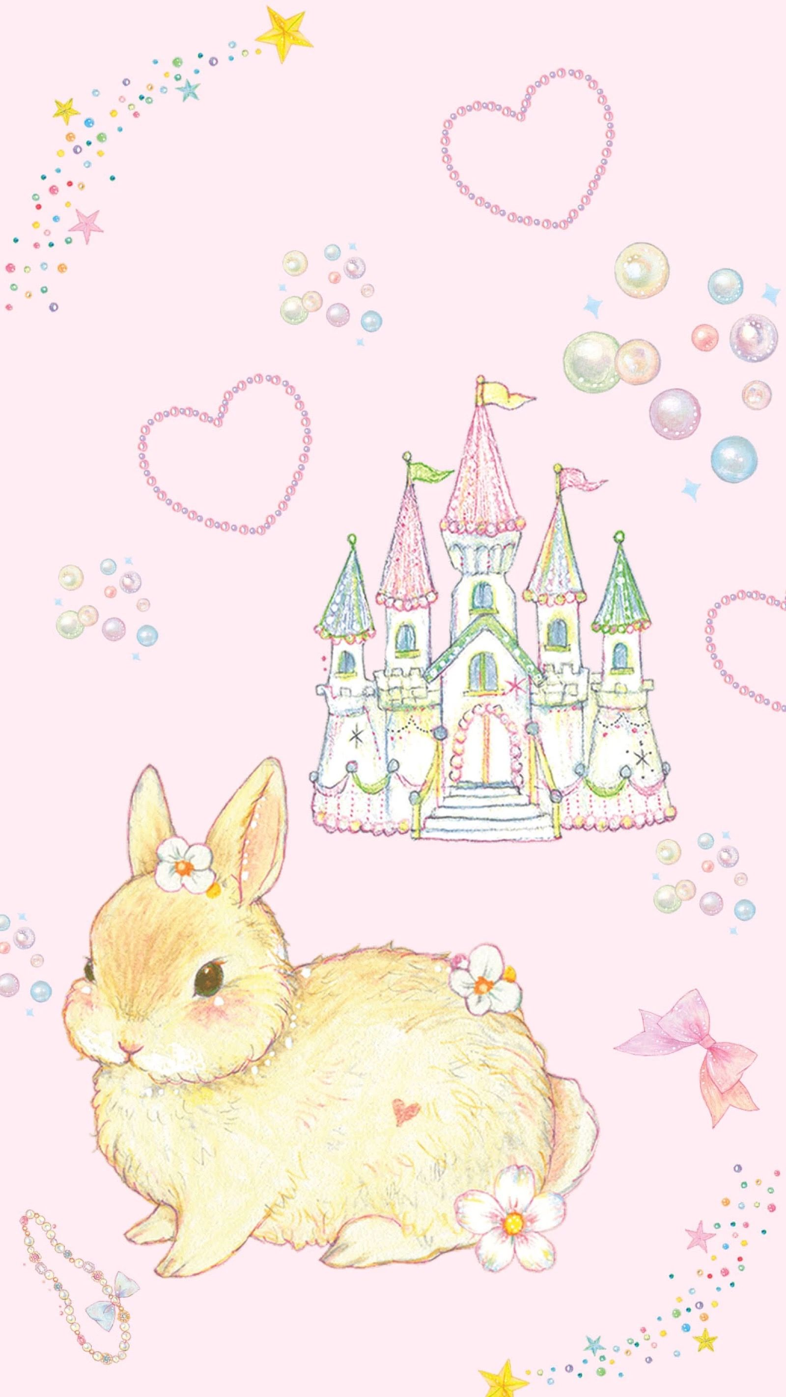 Bunny Buns Bunny Wallpaper Kawaii Wallpaper Cute Wallpapers