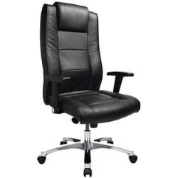 Photo of Topstar Chairman® 10 executive chair black leather Topstar