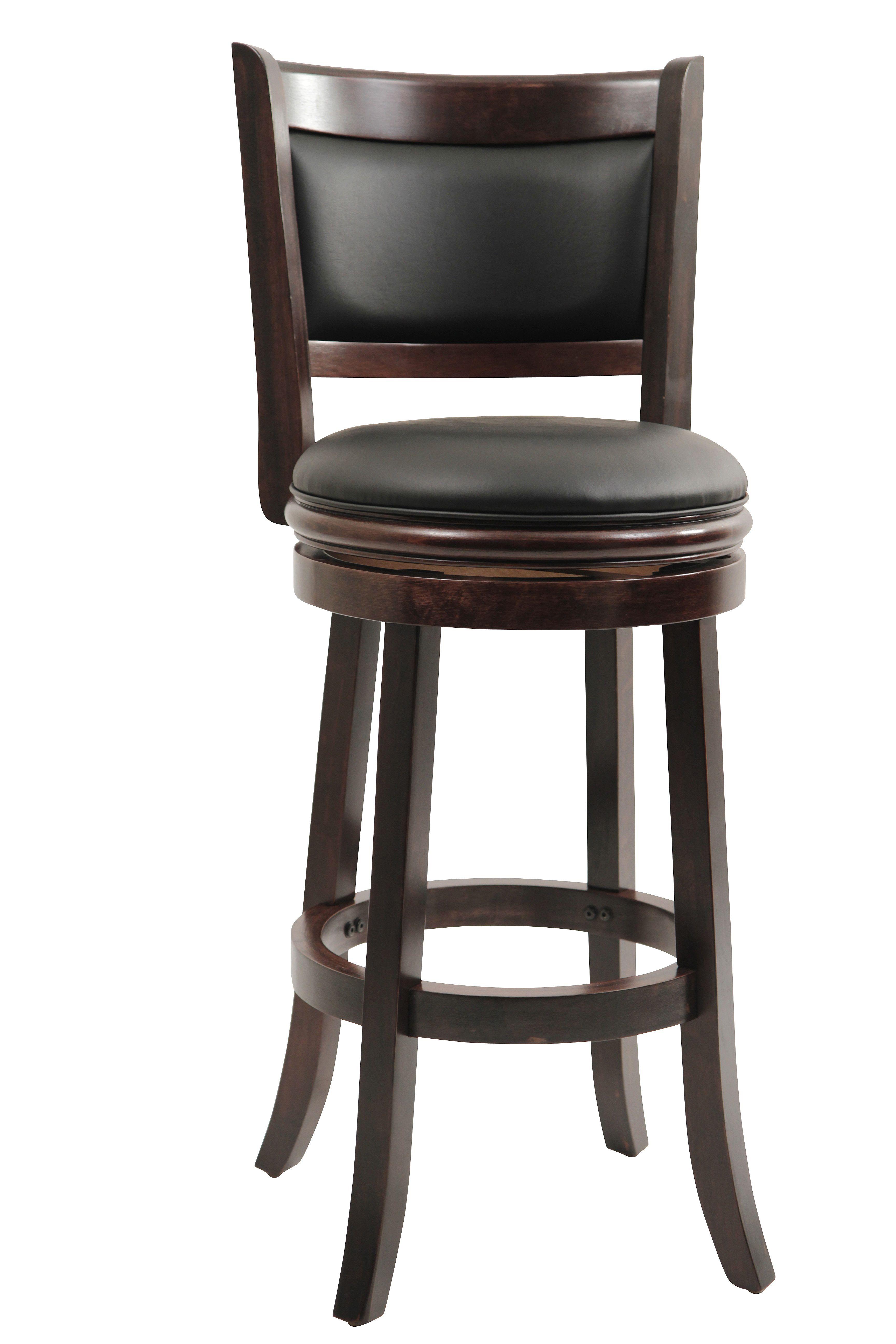 Boraam Augusta 29 Swivel Bar Stool Cappuccino Sale Swivel Bar Stools Bar Stools With Backs Black Bar Stools