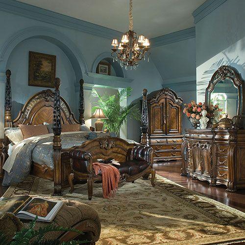Michael Amini Furniture Designs, Michael Amini Furniture Bedroom Set