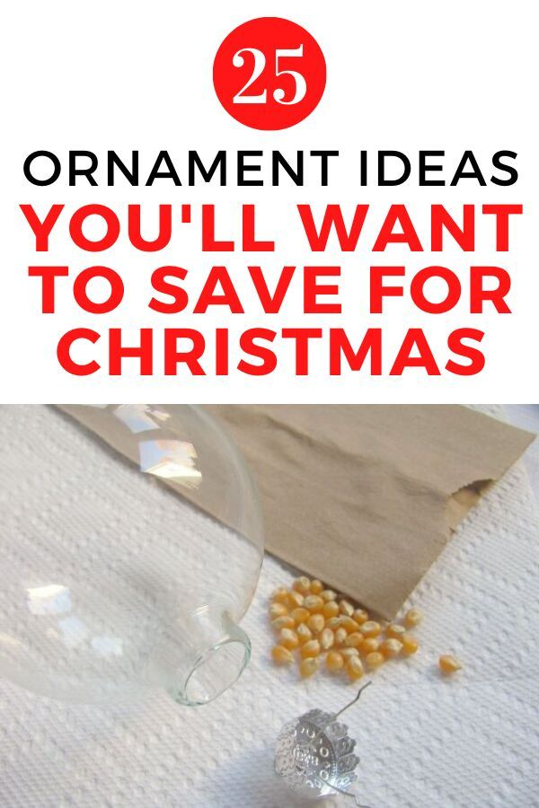 Easy and simple Christmas crafts to make with your kids or family. These quick ornaments make decorating christmas tree on a budget the best way to do it. #hometalk