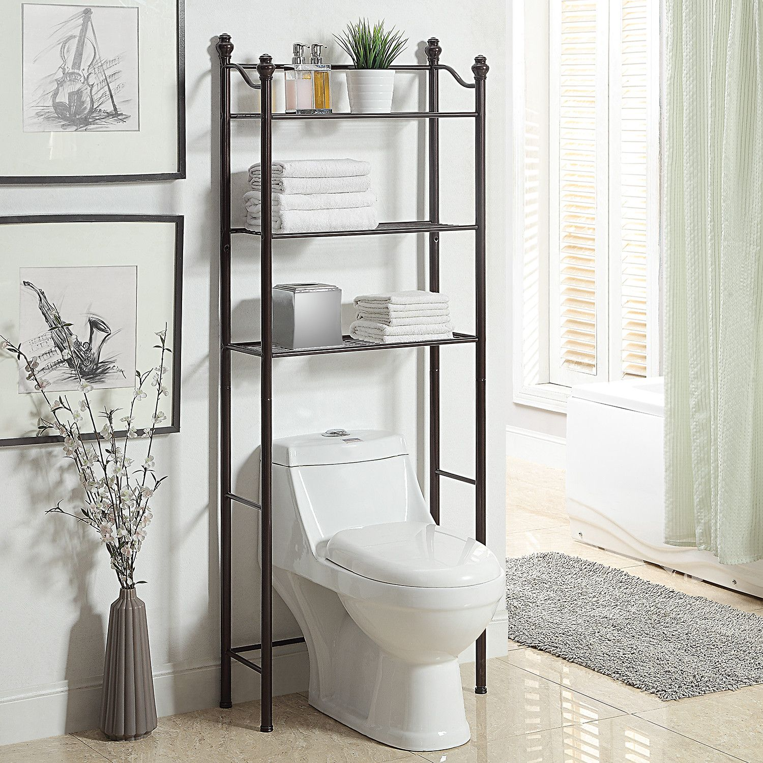 toilet saver furniture shelf spacesaver standing bar free freestanding over bath etagere bathroom the towel design small cabinet storage cabinets rack with space