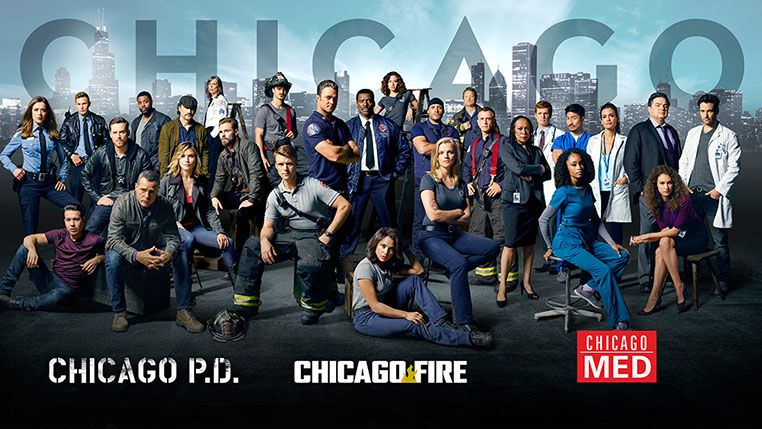 Chicago Fire Chicago P D And Chicago Med Casts Join Forces