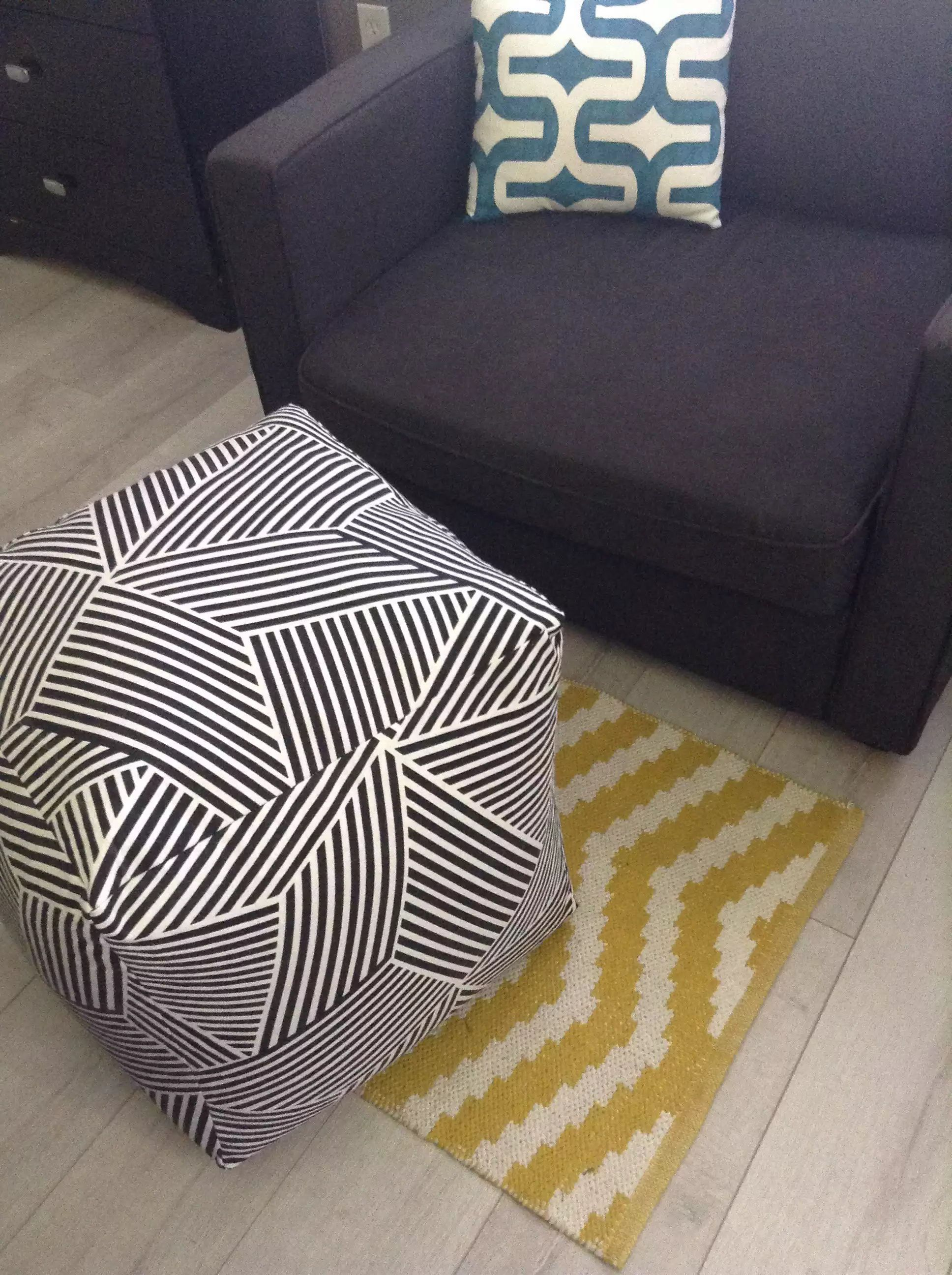 Make an easy diy floor pouf for 35 or less diy pinterest make an easy diy floor pouf for 35 or less solutioingenieria Choice Image