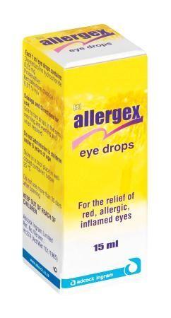 Allergex Eye Drops R27 90 Eye Drops Medicine Skin Treatments