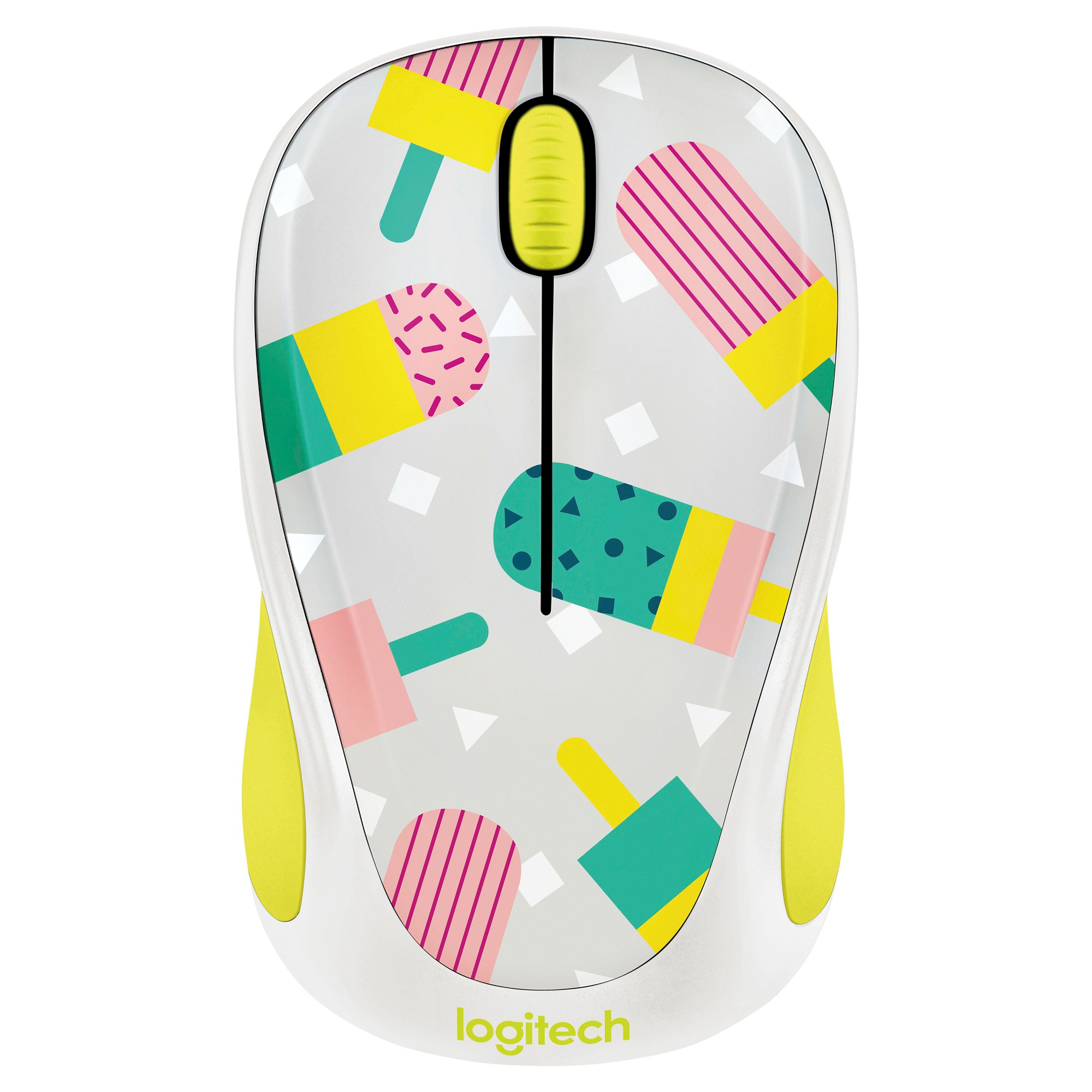 5e94551e49d Logitech M317 Wireless Popsicles Mouse - Black (910-004693 ...
