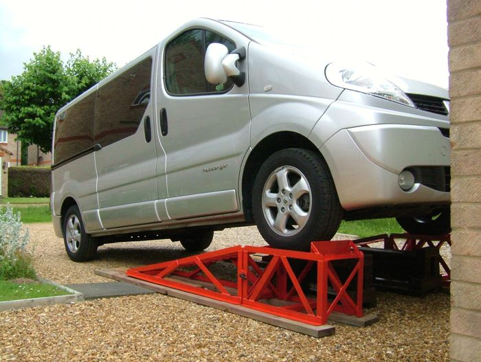 car service ramps the garage journal board auta. Black Bedroom Furniture Sets. Home Design Ideas