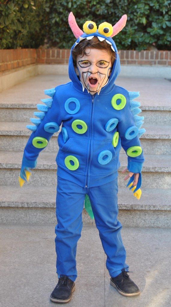 Disfraz monstruo DIY monster inc Pinterest Monsters, Costumes - mens halloween ideas