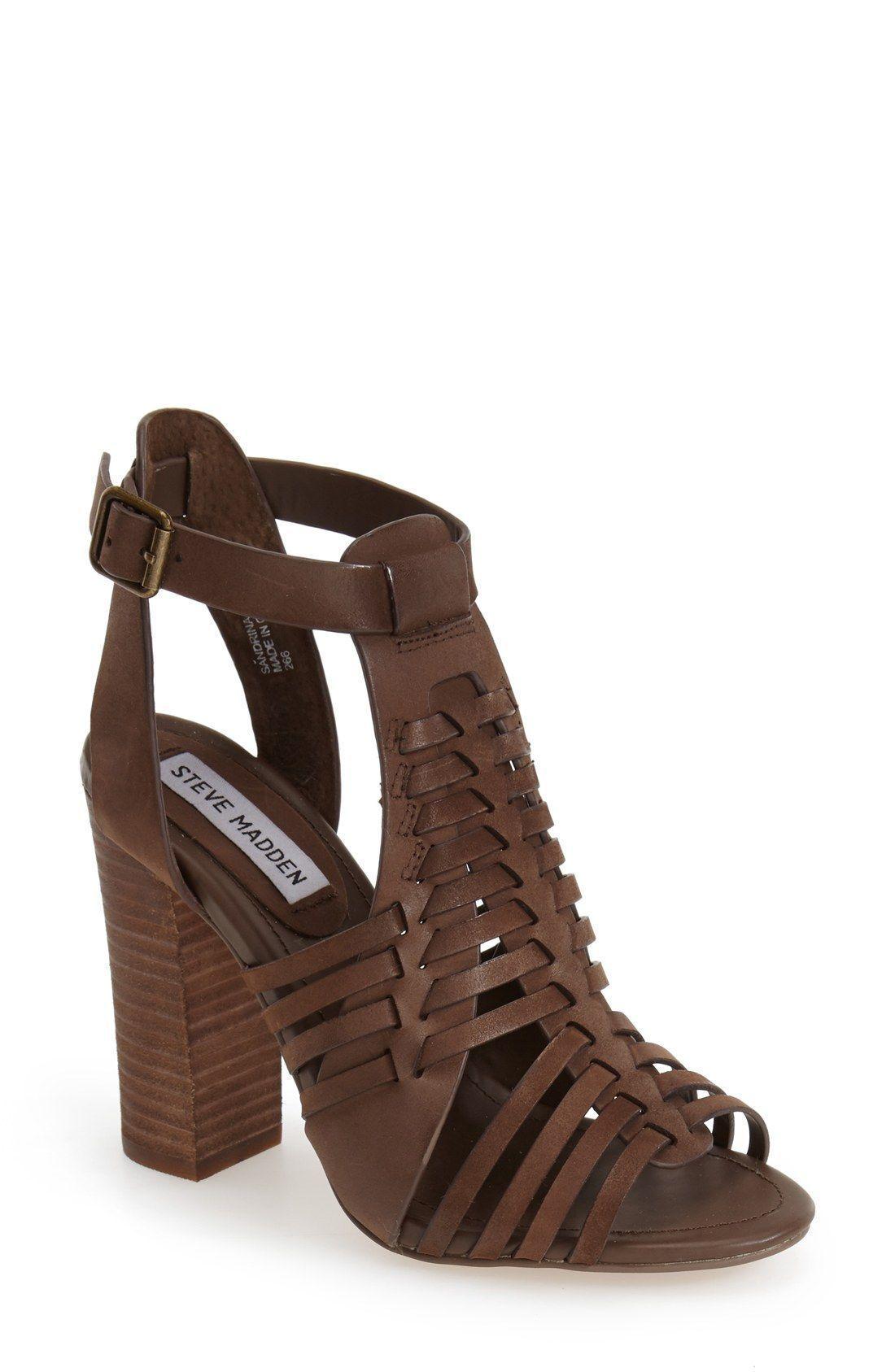 096edac34c4 Free shipping and returns on Steve Madden 'Sandrina' Huarache Sandal ...