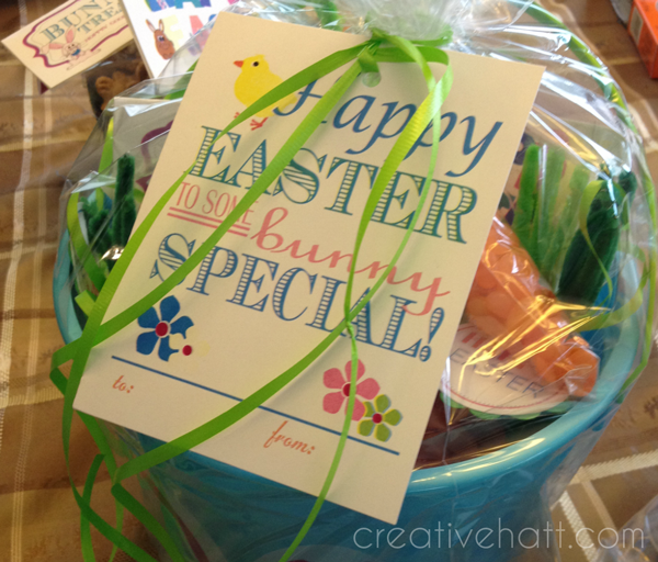 Happy easter to some bunny special gift tags free printables happy easter to some bunny special gift tags free printables negle Images