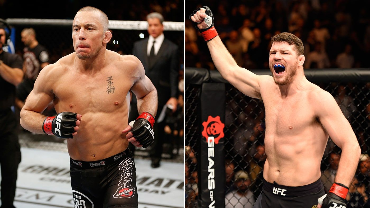 Ufc 217 Michael Bisping Vs Georges St Pierre Two Greats Finally Meet George St Pierre Michael Bisping St Pierre