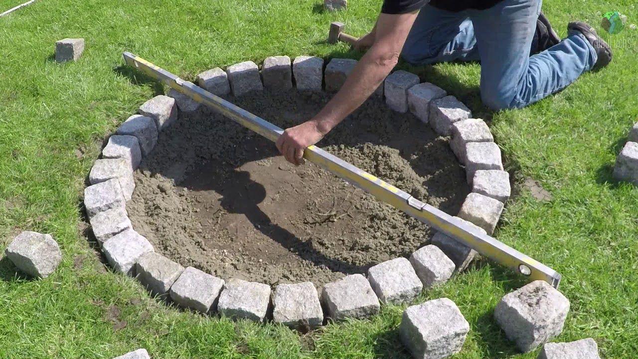 Granit Feuerstelle Selber Bauen Einfach Und Schnell Diy Feuerstelle Selber Bauen Selber Bauen Einfach Feuerstelle
