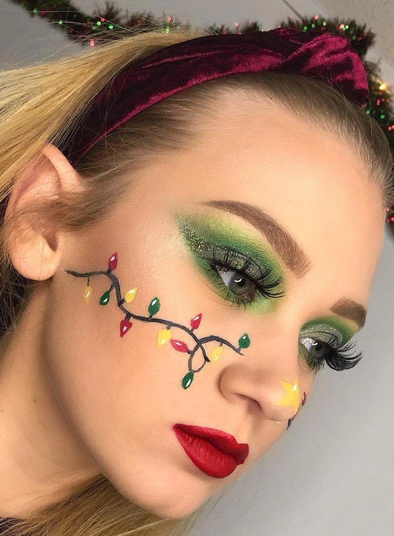 Fantastische WEIHNACHTS-MAKEUP-Tipps für das Neujahrs-Augen-Make-up und mehr für 2019 Teil 14