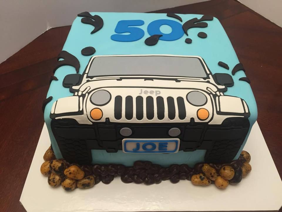 Best  Jeep Cake Ideas On Pinterest Car Cake Tutorial Jeep - Car engine birthday cake