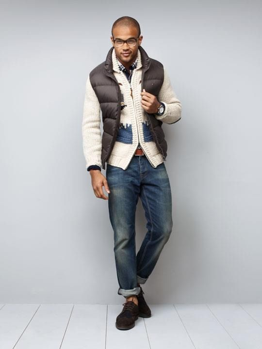 Vest over cardigan | My style | Pinterest