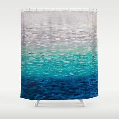 Seaside Shower Curtain By Kellie Morley 68 00 Curtains
