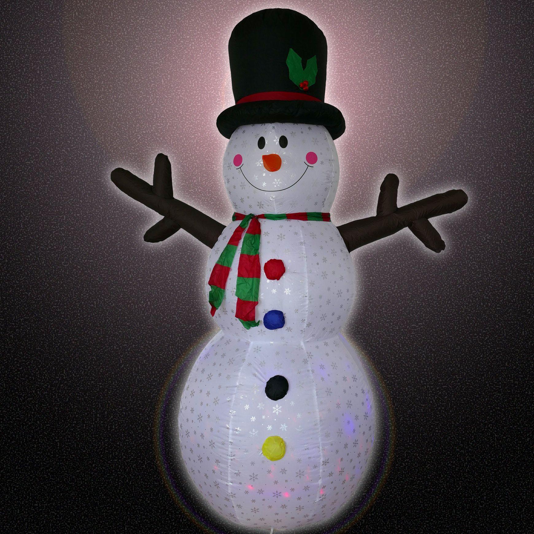Weihnachtsbeleuchtung Schneemann Außen.Weihnachtsbeleuchtung Für Innen Außen Der Schneemann Zur