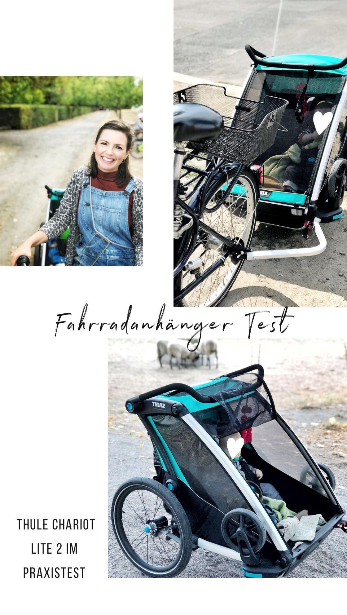 Test Thule Chariot Lite 2 Als Fahrradanhanger Und Buggy Werbung