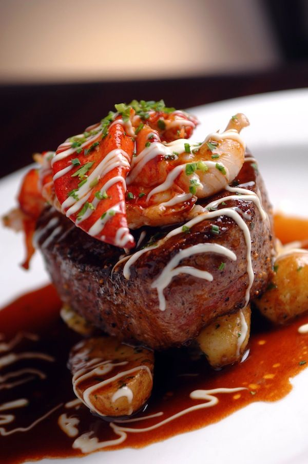 Surf And Turf The Best Of Both Worlds Food Lobster Dinner Surf Turf
