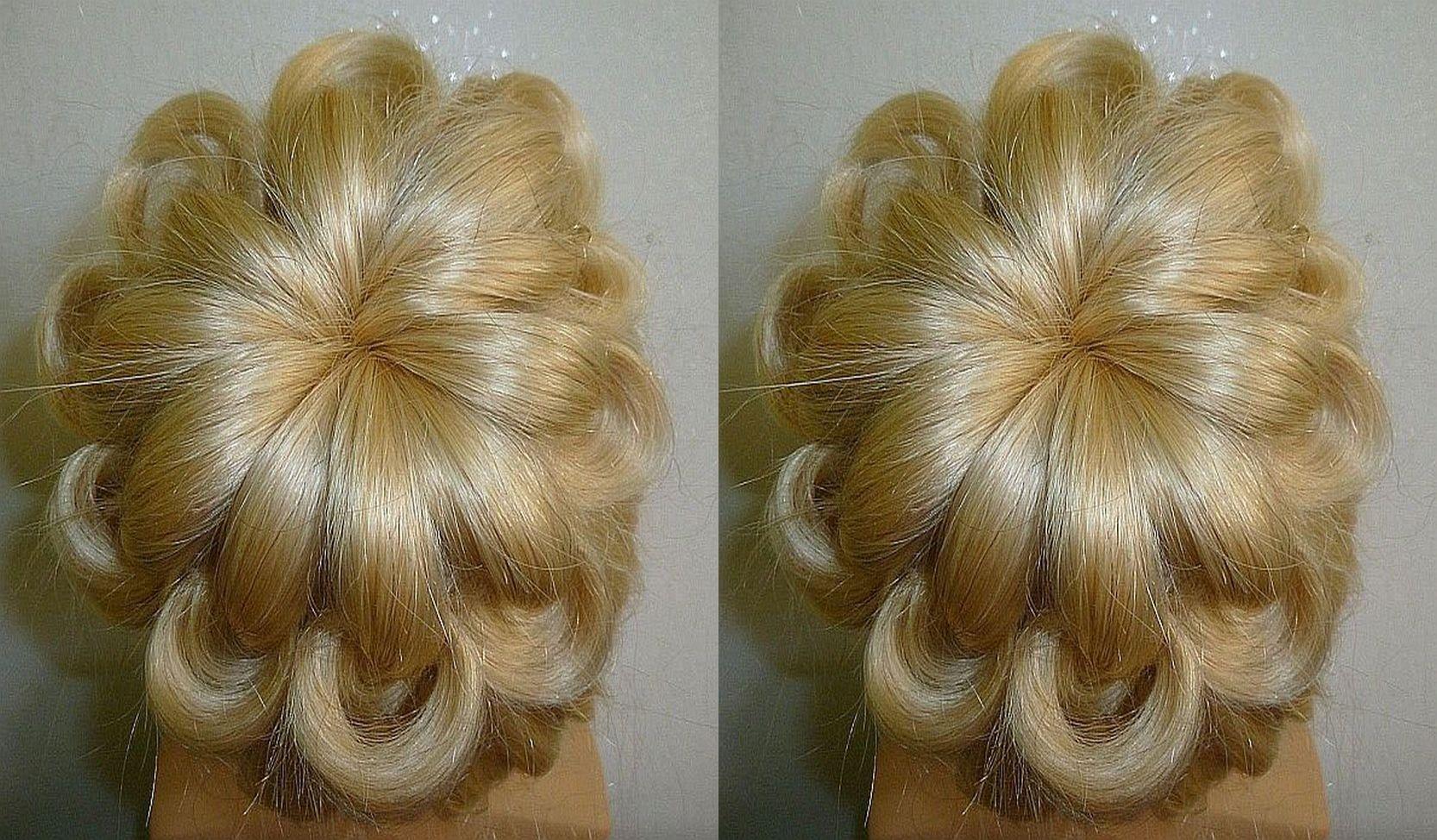 Easy Und Quick Promwedding Hairstyleevening Updo Hairstyles