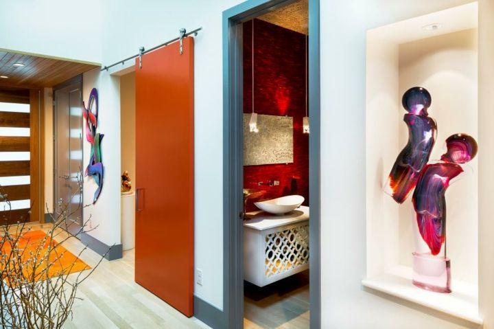 Schuifdeuren, meer dan 70 geweldige ideeën -