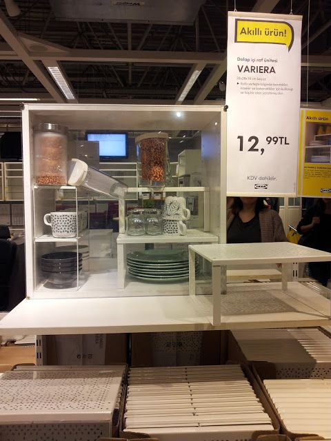 Ikea Dan Raf Ve Dolap Ici Duzenleyiciler Denenecek Seyler