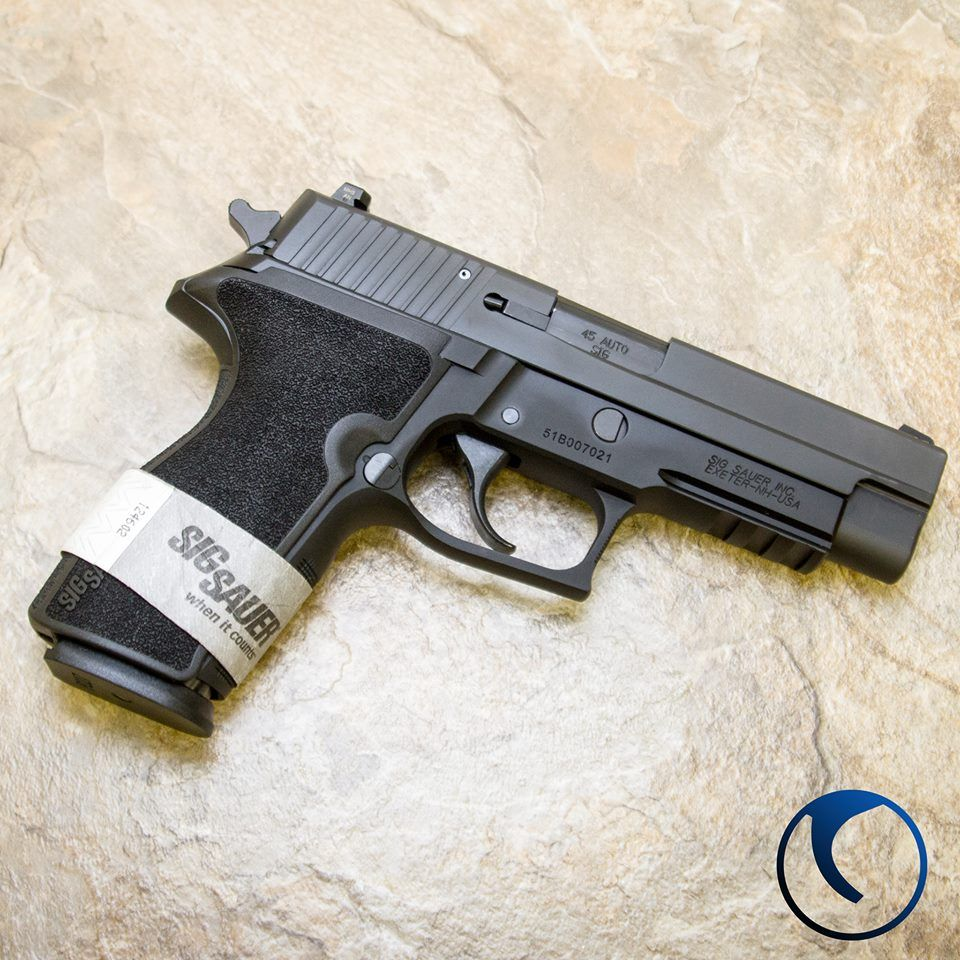 The remarkably ergonomic Sig Sauer P227 double stack  45
