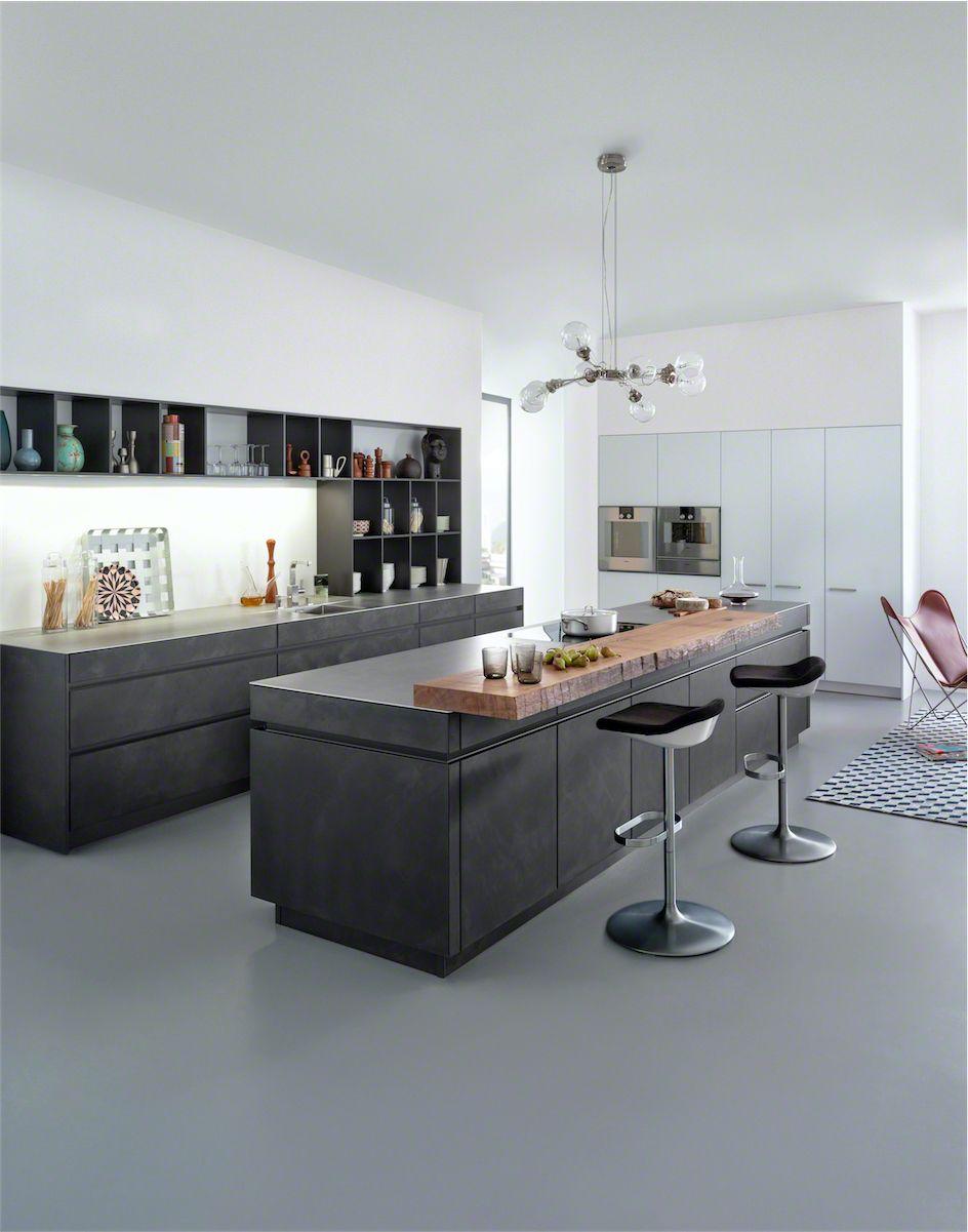 Best Get Leicht S Modern Kitchen Units With Concrete Surface 400 x 300