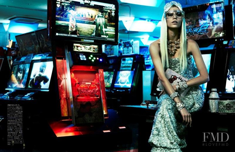The Girl Who Rocks The Planet in Vogue Italy with Aline Weber