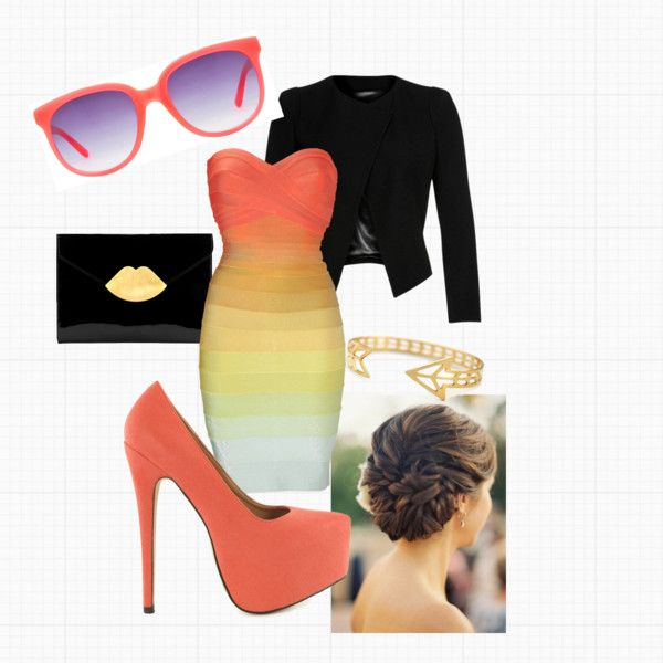 """""""Peachy"""" by musa-lana on Polyvore"""