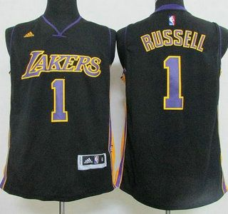 7c6eedc3ccb ... Los Angeles Lakers Jersey 7 Larry Nance Revolution 30 Swingman 2015 New  Black Short-Sleeved ...