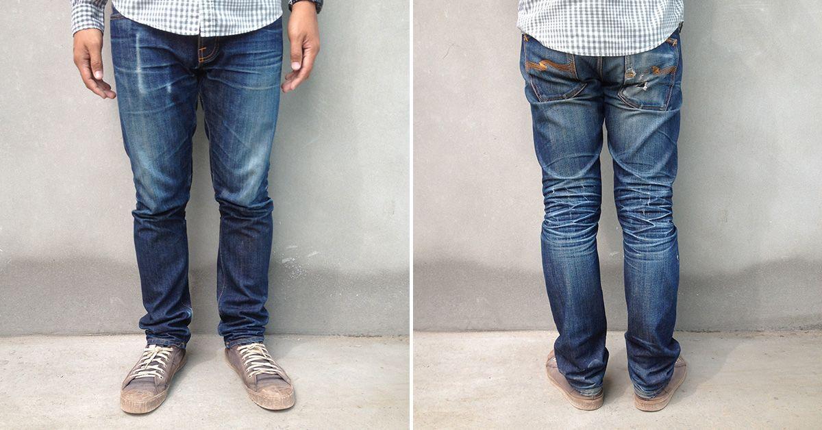 2339495d Nudie Jeans Co. Grim Tim Dry Selvage (9 Months, 1 Wash, 1 Soak ...