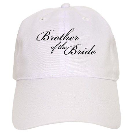 Brother of the Bride (FF) Baseball Cap on CafePress.com
