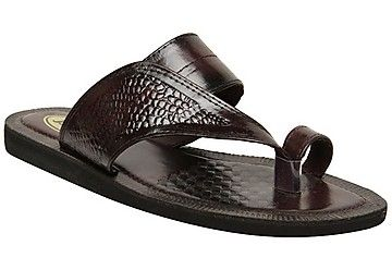 Buy Bata Brown Men Slippers - 8714468 Online at Best Price Deals in India