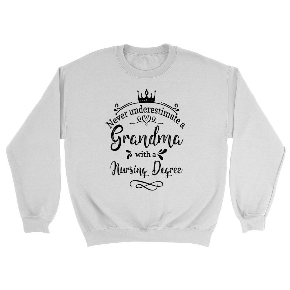 Never underestimate a grandma with a nursing degree