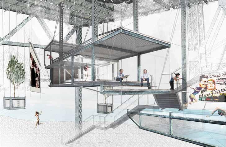 Hanging House Made from Bay Bridge Scraps Wins Prestigious Student