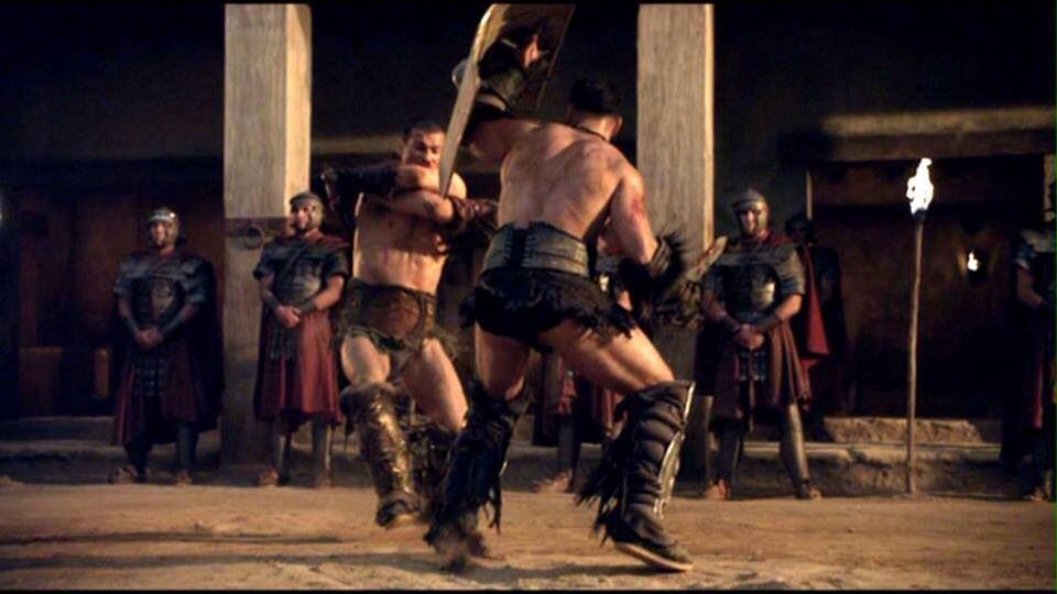 """Spartacus Blood and Sand. Episode 13 """"Kill Them All"""""""