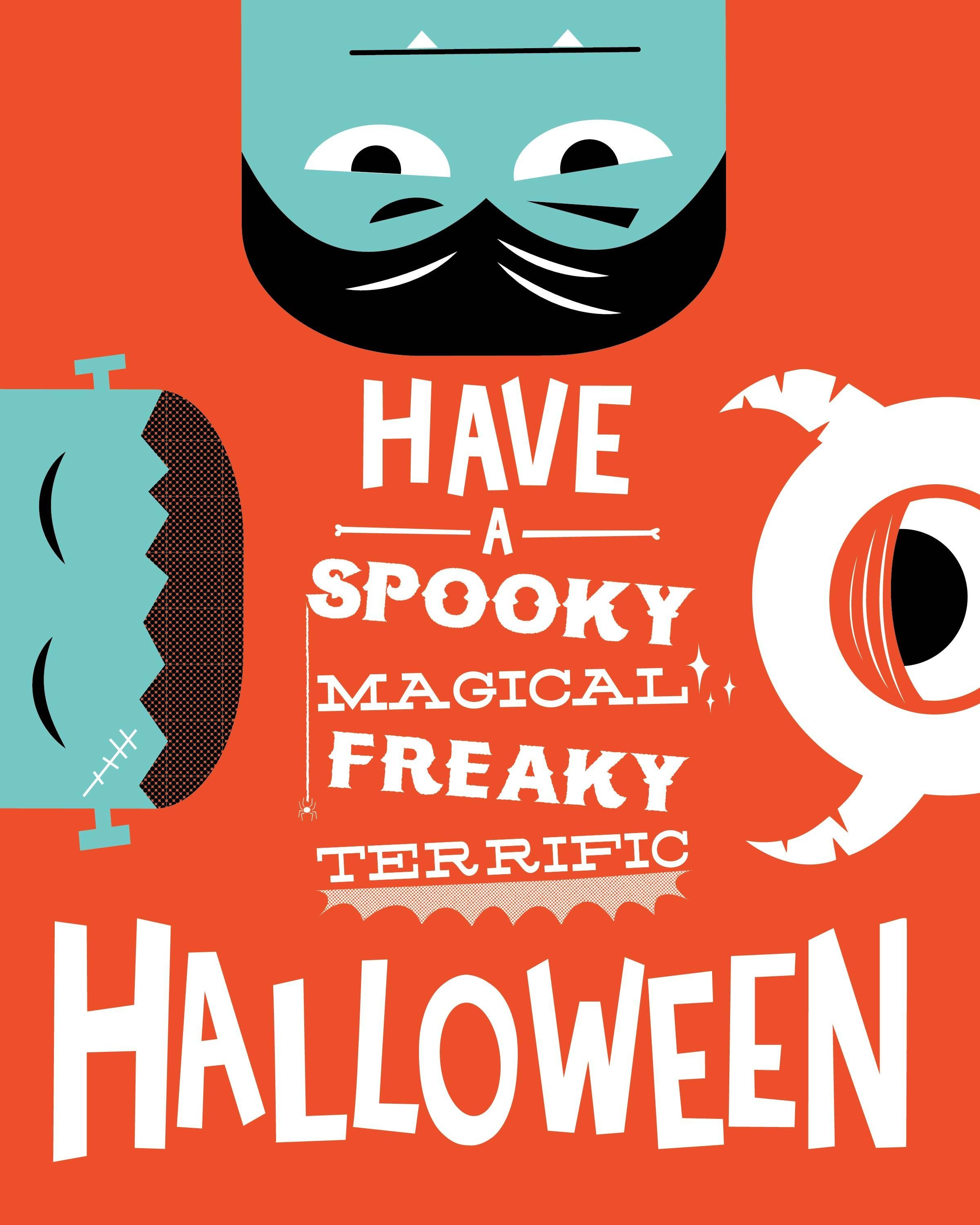 halloween poster if youu0027d like to see more of my work check