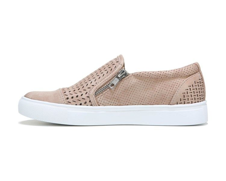 Nude girls white gym shoes