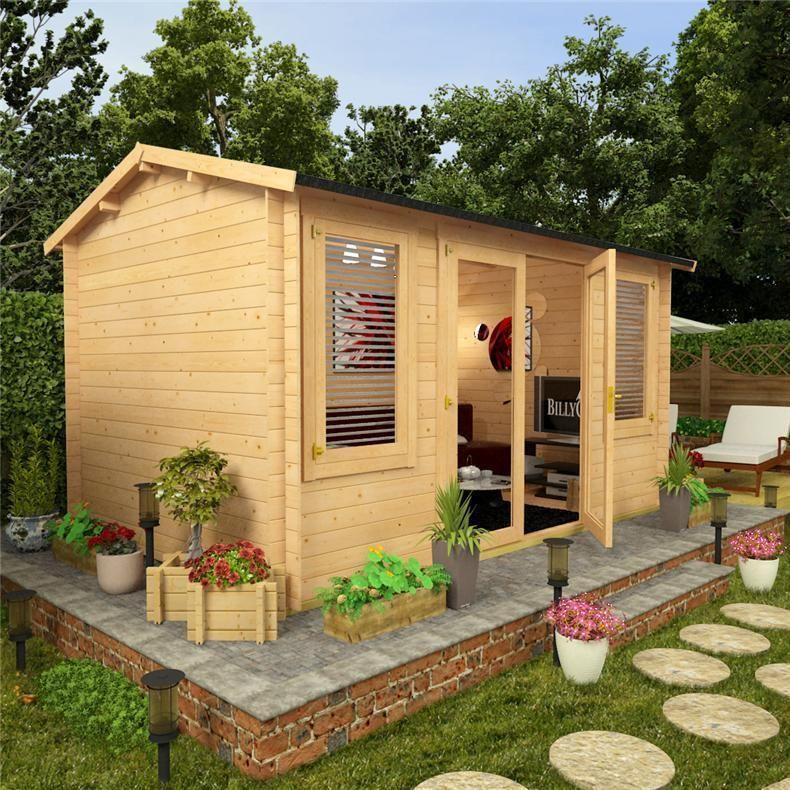 cabin for reviews log gardenlife garden cabins